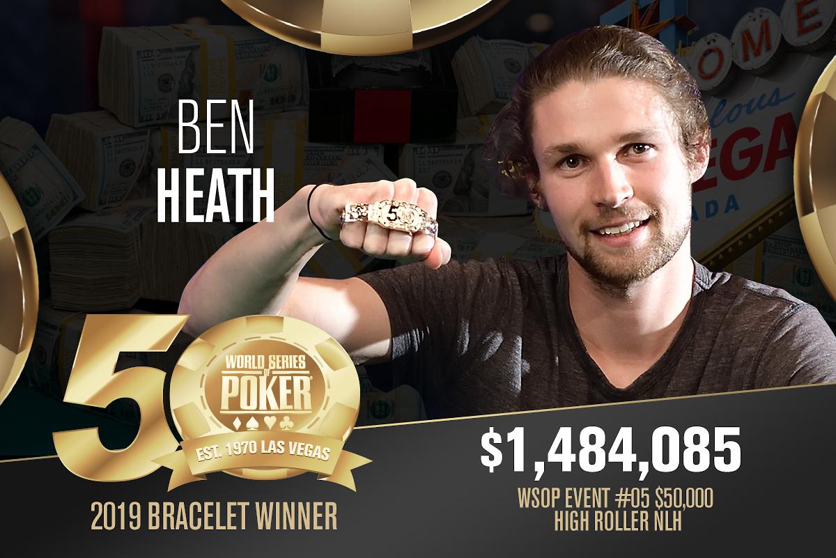 Ben Heath ganador