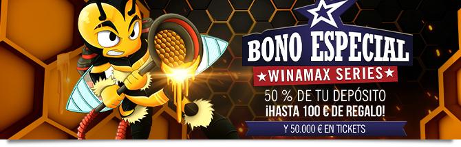 bono poker wina series