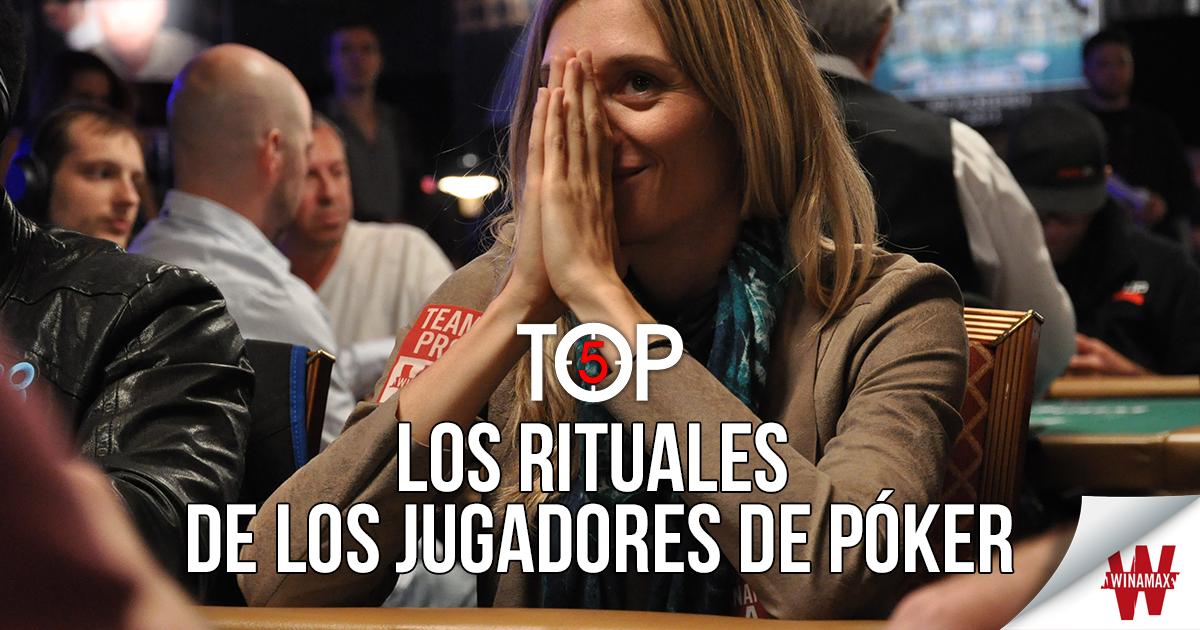 Top 5: los rituales de los jugadores de póker