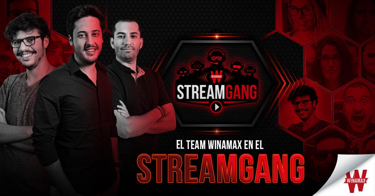 Team Pro en Stream Gang