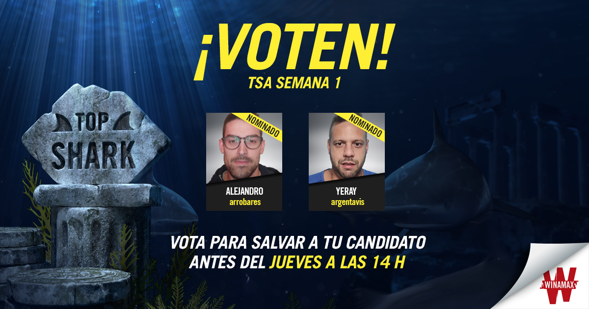 Top Shark Semana 1 votacíon