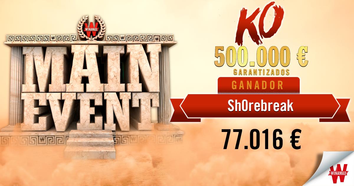 Main Event KO 500k