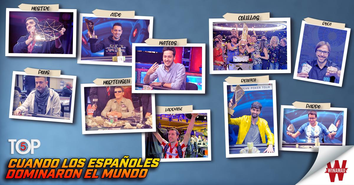 Top 5: cuando los españoles dominaron el mundo