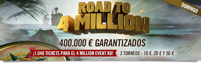 road to 4 million