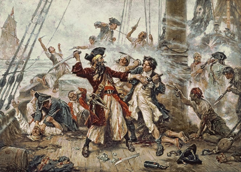 duelo pirata
