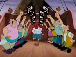 Los piratas de Peter Pan
