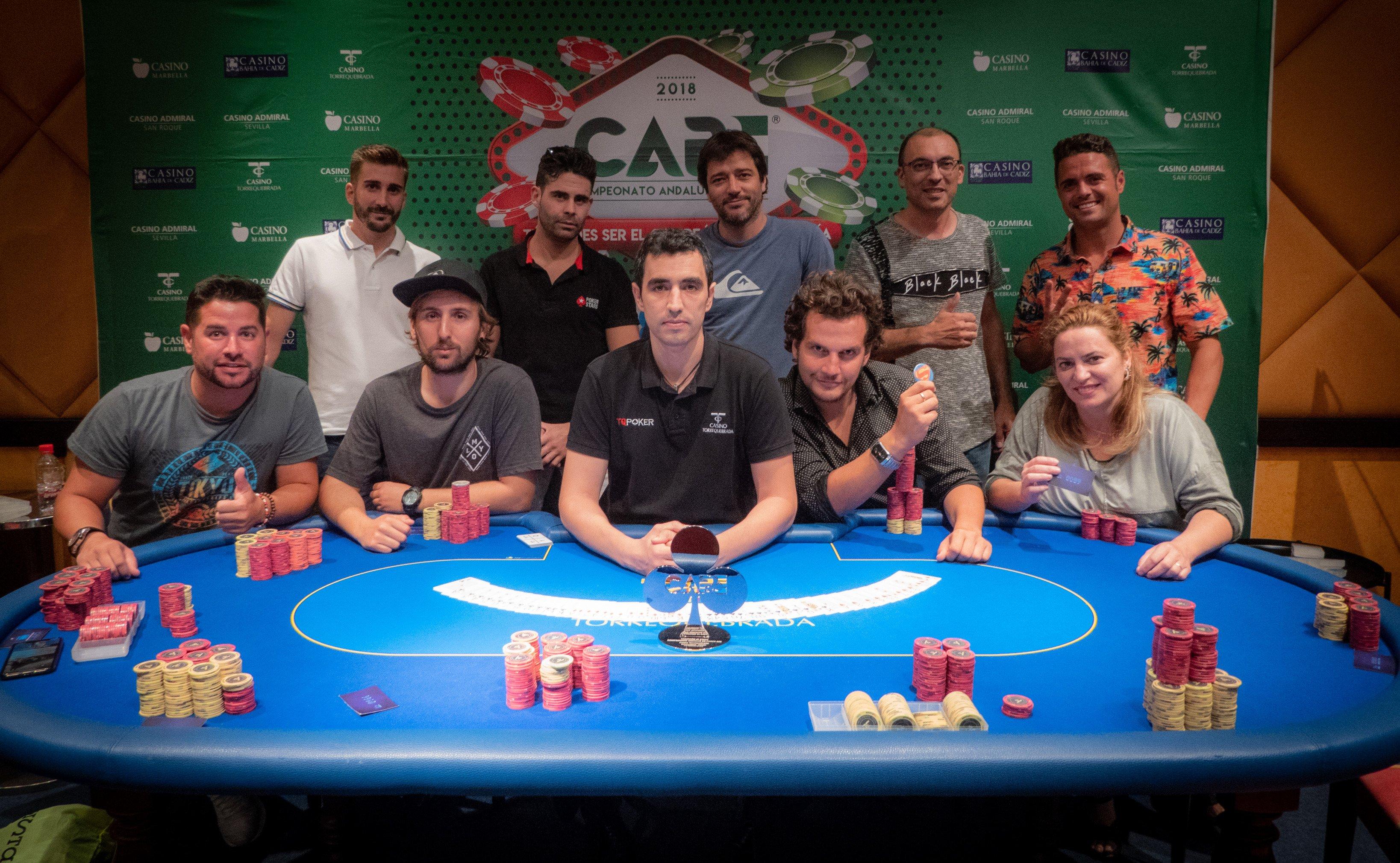 Campeonato Andaluz de Poker en Casino Torrequebrada (Málaga)