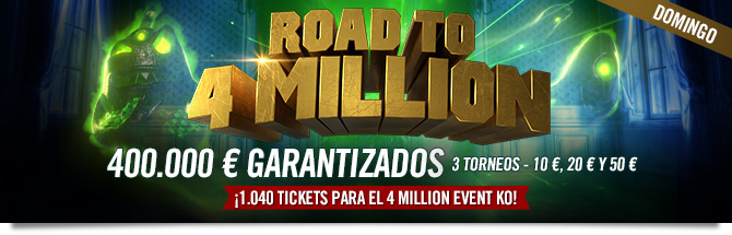 road to 4 million