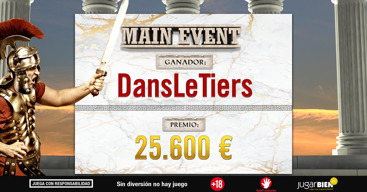 DansLeTiers Main Event