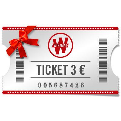 Ticket 3 € para regalar