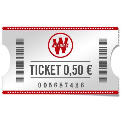 Ticket 0,50 €