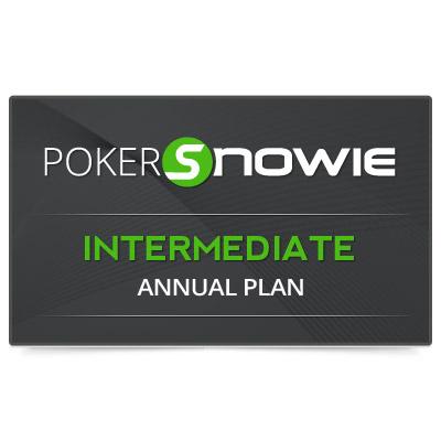 PokerSnowie INTERMEDIATE