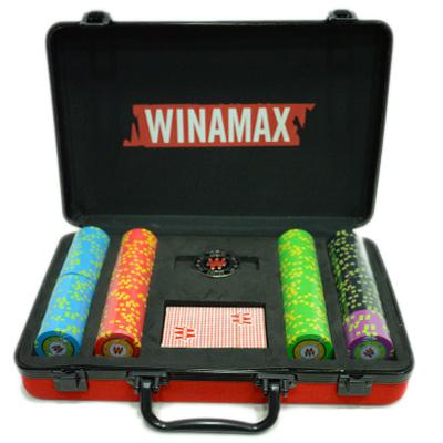 Nueva maleta de poker roja 200 fichas