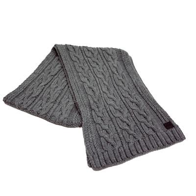 Nueva bufanda gris