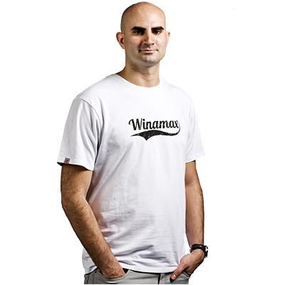 Gorra vaquera - Gris 1.150 millas  Camiseta blanca Winamax virgule 9776ff72fb5