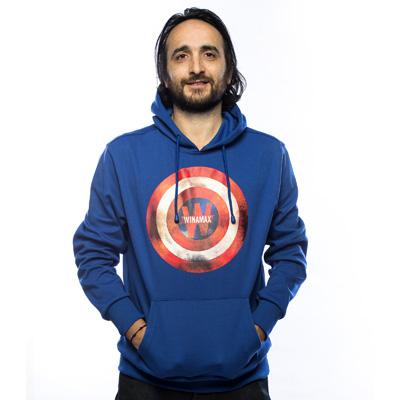 Nueva sudadera azul Capitán América