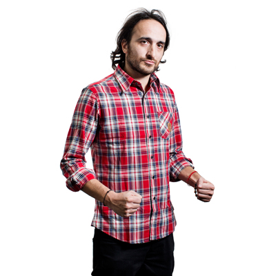 Camisa leñador hombre