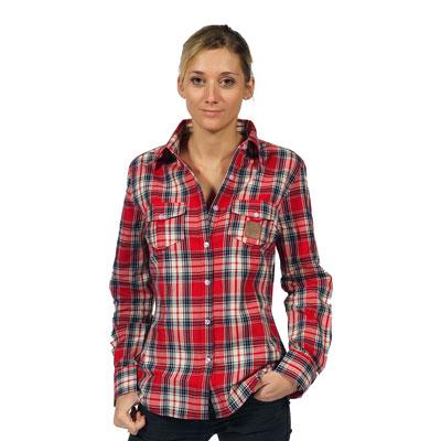 Camisa leñador mujer