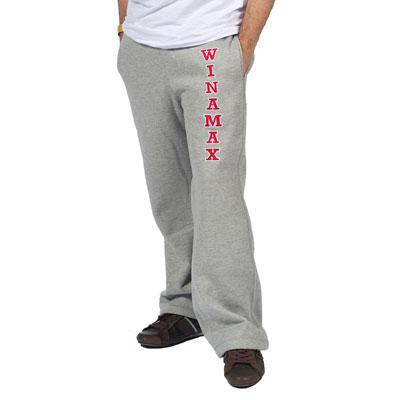 Pantalón de chándal gris Winamax