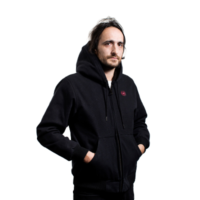 Abrigo negro Winamax