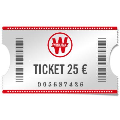 Ticket 25 €