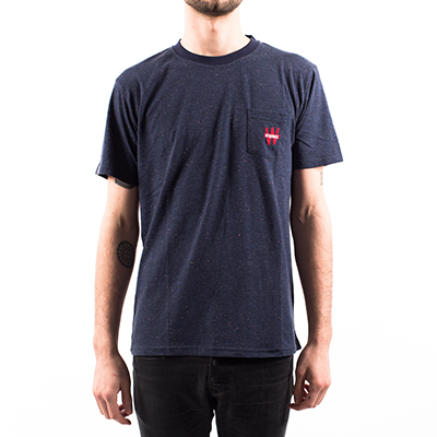 Camiseta con bolsillo Winamax - Azul marino moteado