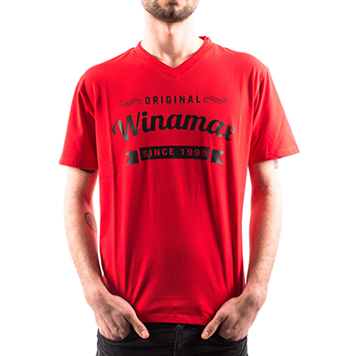 Camiseta Original Winamax - Rojo