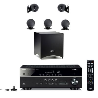 Home Cinema Yamaha HTR-4071 Negro + Pack Cabasse Alcyone 2 Negro