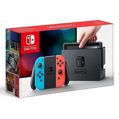 Consola Nintendo Switch + Joy-Con derecho (rojo) e izquierdo (azul)