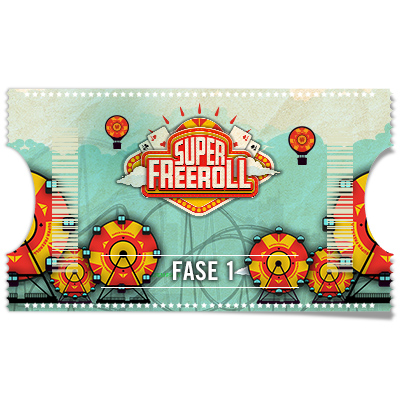 Ticket Super Freeroll 100.000€ - Fase 1