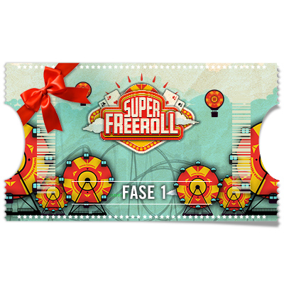 Ticket Super Freeroll 100.000 € - Fase 1 para regalar