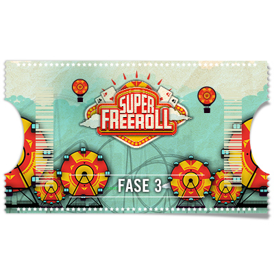 Ticket Super Freeroll 100.000 € - Fase 3