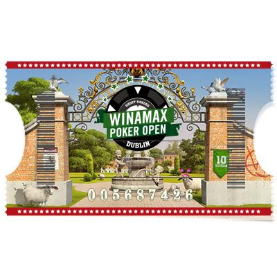 Buy-in 500 € Winamax Poker Open - Main Event